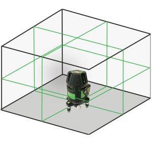 XL4G green multi line green beam laser