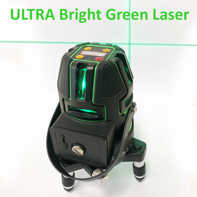 Green Multi LIne Laser with servo electronic leveling