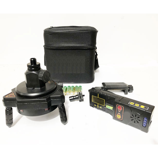 auto TRACK for line lasers for easy alignment with motorized base