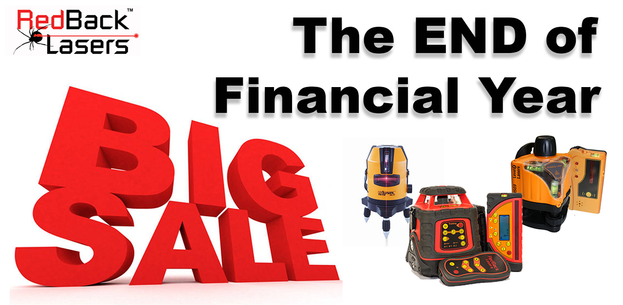 End of Financial Year Sale Laser Levels