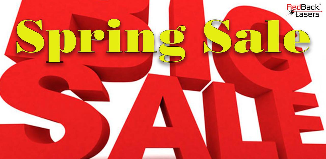 Spring Sale RedBack Laser Levels